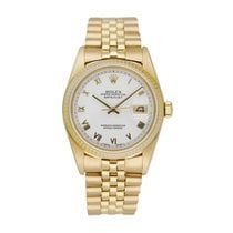 Rolex 16018 Yellow gold 1984 Datejust 36mm pre-owned United States of America, New York, New York