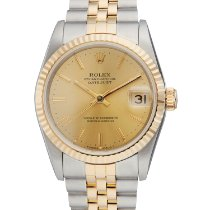 Rolex Lady-Datejust 68273 Sehr gut Gold/Stahl 31mm Automatik