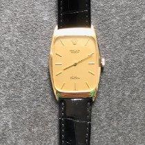 Rolex Cellini Gelbgold 35mm Gold Keine Ziffern Schweiz, Füllinsdorf