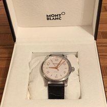 Montblanc Steel Automatic Silver Arabic numerals 42mm pre-owned Timewalker