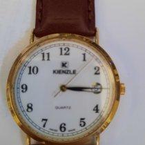 Kienzle Yellow gold 30mm Quartz 693/7564 new
