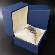 Rolex Oyster Perpetual Guld/Stål 31mm Grå Inga siffror