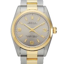 Rolex Oyster Perpetual pre-owned 31mm Grey Gold/Steel