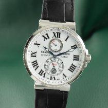 Ulysse Nardin Marine Chronometer 43mm Acier 43mm Blanc