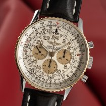 Breitling Navitimer Cosmonaute B12019 Πολύ καλό Χρυσός / Ατσάλι 42mm Χειροκίνητη εκκαθάριση