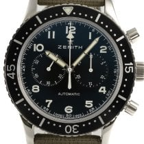 Zenith Pilot Type 20 Steel 43mm Black
