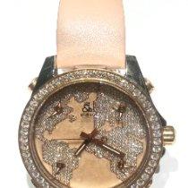 Jacob & Co. nuevo Cuerda manual Esfera con guilloques Con piedras preciosas y diamantes Agujas luminosas 40mm Acero Cristal