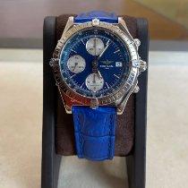 Breitling Chronomat Steel 39mm Blue No numerals