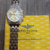 Breitling Chronomat 38 Gold/Steel White