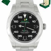 Rolex Air King Steel 40mm Black Arabic numerals United States of America, New York, Smithtown