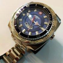 Zodiac Sea Dragon Steel 49mm Blue No numerals