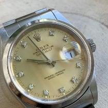 Rolex Datejust Acero 36mm Champán
