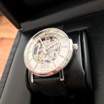 Epos gebraucht Automatik 38,5mm Silber Saphirglas 5 ATM