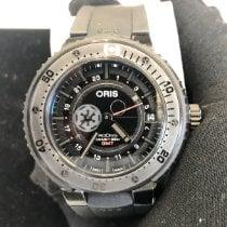 Oris ProDiver GMT Titanium 49mm Black Arabic numerals United States of America, New York, New York