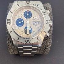 Breitling Superocean Chronograph Steelfish Stahl 44mm Silber Arabisch