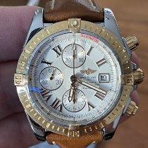 Breitling Chronomat Evolution Gold/Stahl 44mm Weiß Römisch Deutschland, Melsungen