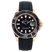 Rolex Automatic Black 40mm pre-owned Yacht-Master 40