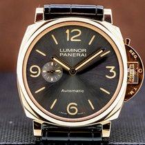 Panerai Luminor Due Rose gold 45mm Arabic numerals United States of America, Massachusetts, Boston