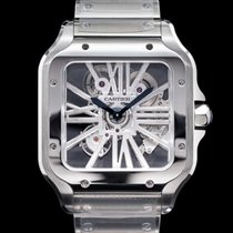 Cartier Santos (submodel) Steel 39.8mm United States of America, Massachusetts, Boston