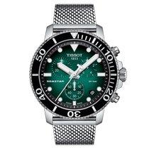 Tissot Seastar 1000 Сталь Зеленый