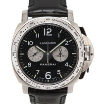 Panerai White gold Manual winding Black 40mm pre-owned Special Editions