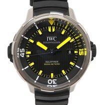 IWC Aquatimer Automatic 2000 Титан 46mm Черный