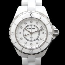 Chanel J12 H1628 Very good Ceramic 33mm Quartz