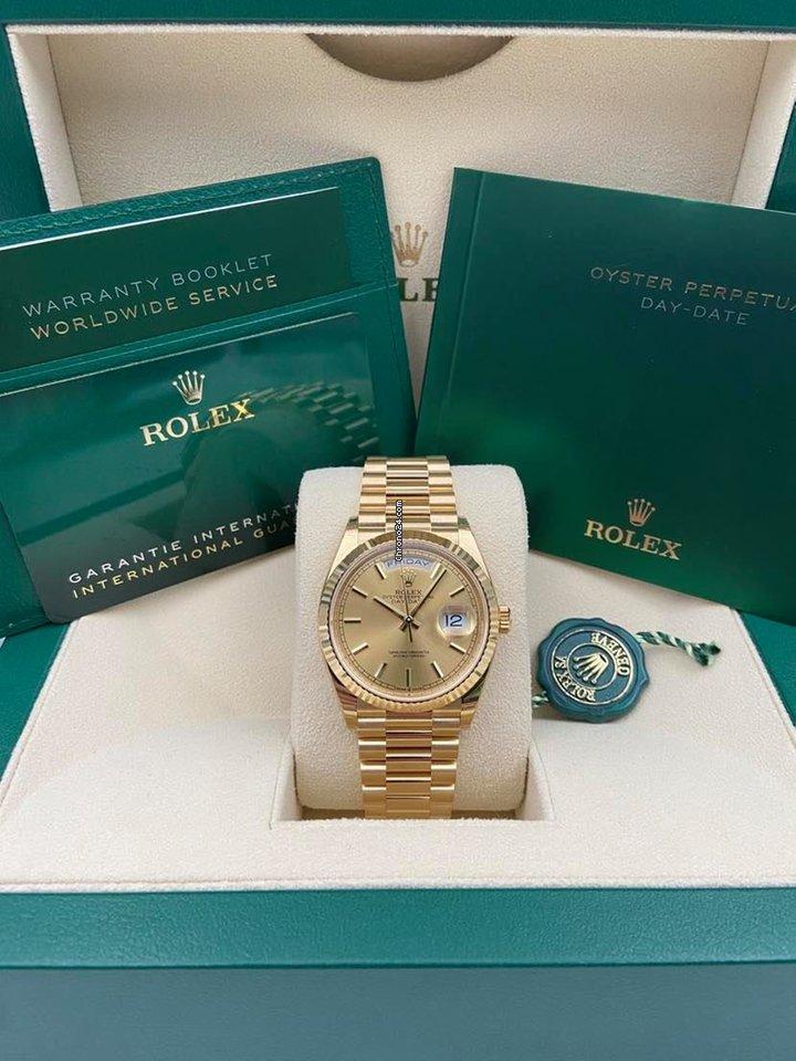 Rolex Day-Date 36 128238 2020 новые