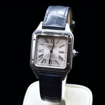 Cartier WSSA0022 Steel 2020 Santos Dumont 43.5mm pre-owned United States of America, Texas, Frisco
