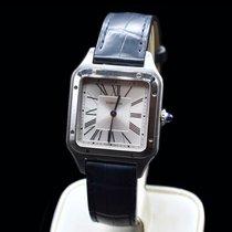Cartier Santos Dumont Steel 43.5mm Silver Roman numerals United States of America, Texas, Frisco