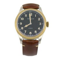 Montblanc 1858 pre-owned 44mm Black Leather