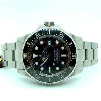 Rolex Sea-Dweller Deepsea usados 44mm Negro Fecha Acero