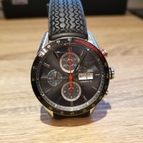 TAG Heuer Carrera Calibre 16 new 2013 Automatic Chronograph Watch with original box and original papers CV2A1M.FT6033