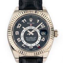 Rolex Sky-Dweller White gold 42mm Black Arabic numerals