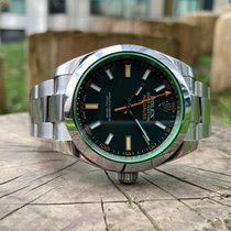 Rolex Milgauss 116400GV Bardzo dobry Stal 40mm Automatyczny