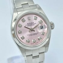 Rolex Oyster Perpetual Lady Date occasion 26mm Rose Date Acier