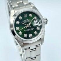 Rolex Oyster Perpetual Lady Date 79160 Jamais portée Acier 26mm Remontage automatique