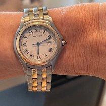 Cartier Cougar Gold/Steel 33mm White Roman numerals United States of America, Florida, Miami