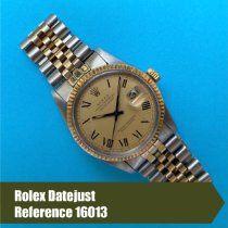 Rolex 16013 Gold/Steel 1979 Datejust 36mm pre-owned United States of America, Florida, Coral Gables