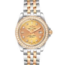 Breitling Galactic 32 Gold/Steel 32mm Champagne United States of America, Georgia, Atlanta