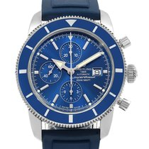 Breitling Superocean Heritage Chronograph Acero 46mm Azul