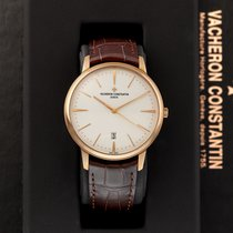 Vacheron Constantin Patrimony Rose gold 40mm Silver United States of America, New York, Airmont
