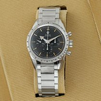 Omega Speedmaster Steel 38.6mm Black United States of America, New York, Airmont