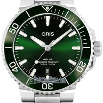 Oris Aquis Date Steel 41.5mm Green United States of America, New York, Airmont