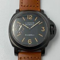 Panerai Luminor Marina Steel 44mm Black Arabic numerals Malaysia
