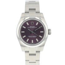 Rolex Oyster Perpetual 26 Stahl 26mm Violett