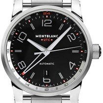 Montblanc Timewalker 109135 New Steel 42mm Automatic