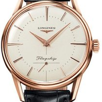 Longines Flagship Heritage Rose gold 35mm Silver United States of America, California, Moorpark