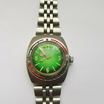 Vostok pre-owned Manual winding 43.5mm Green Mineral Glass 20 ATM