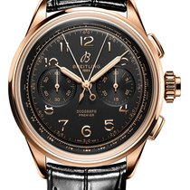 Breitling Duograph Red gold 42mm Black Arabic numerals
